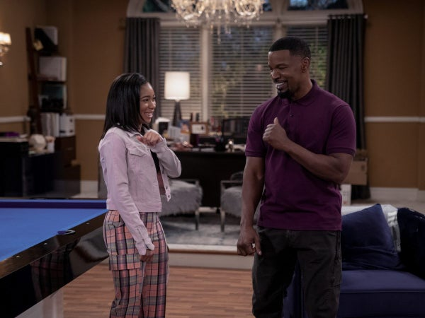Jamie Foxx Gushes Over Working With His Daughter On New Sitcom