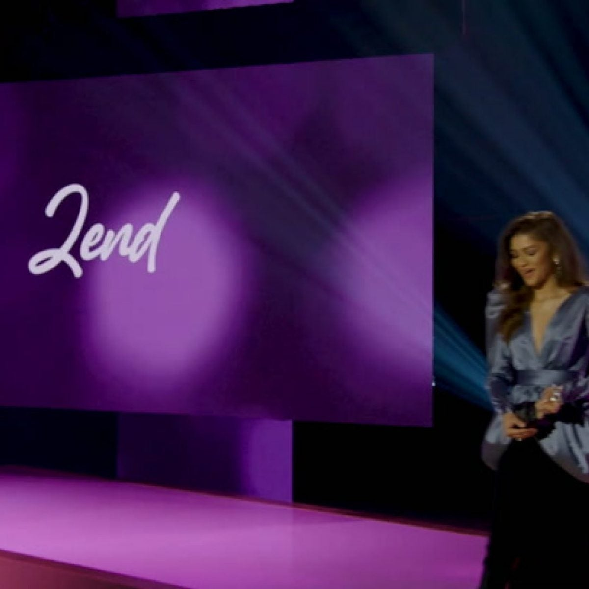 Zendaya's Black Women in Hollywood Acceptance Speech