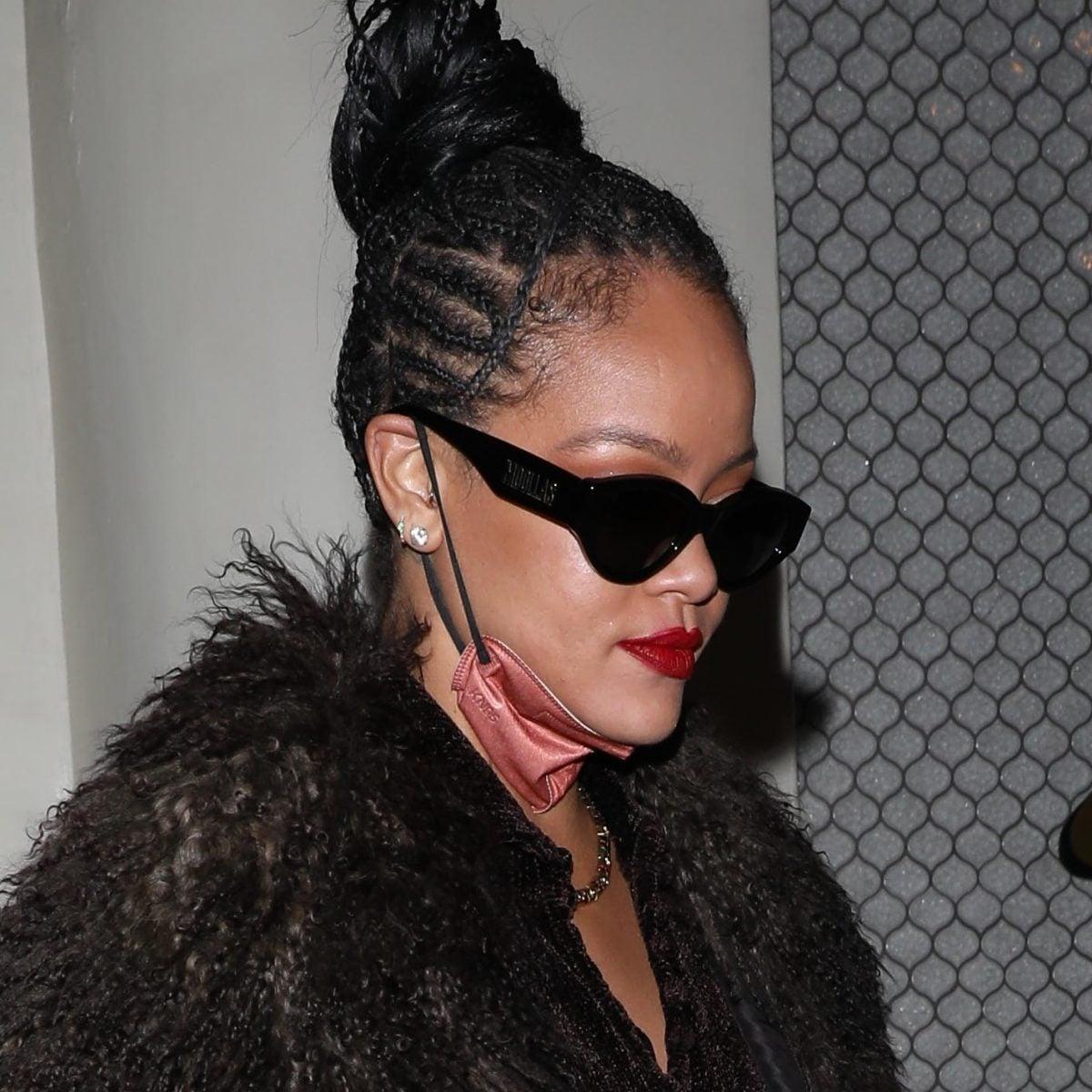 Rihanna Is Back Again With Her Street Style Slay