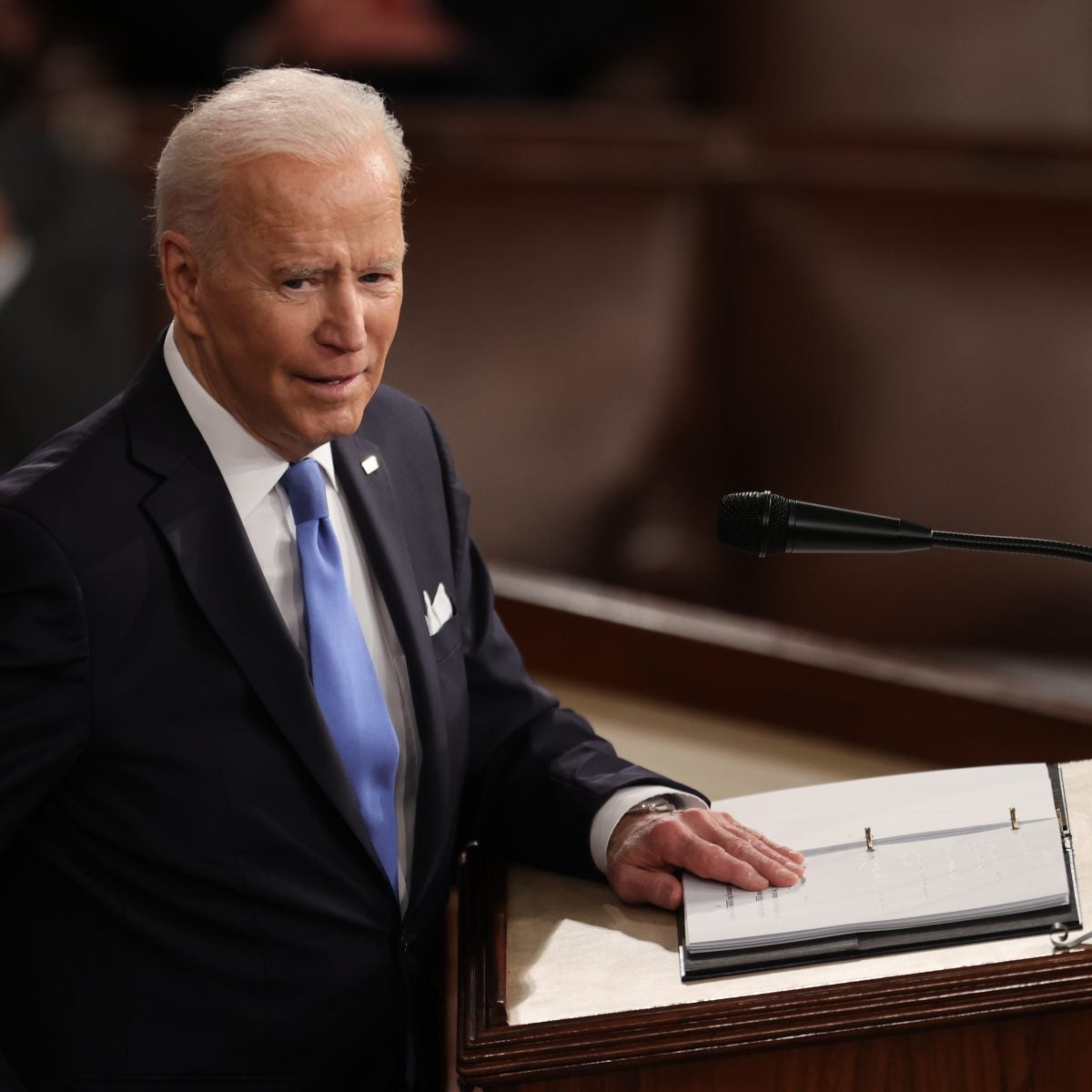 President Joe Biden Addresses the Nation to Mark 100 Days in Office