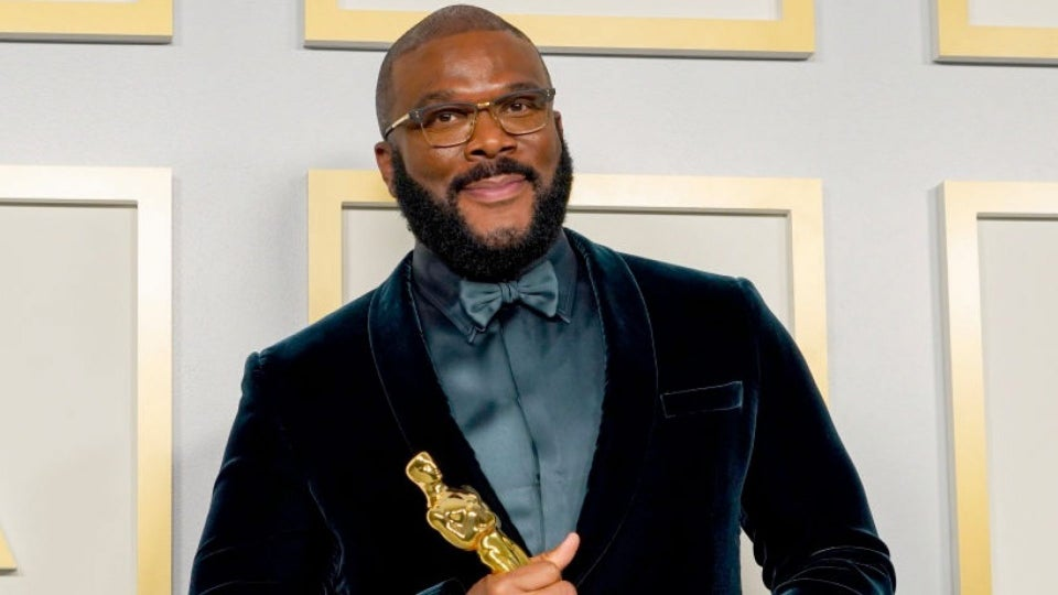 Tyler Perry Gets His Flowers With Jean Hersholt Humanitarian Award At The Oscars