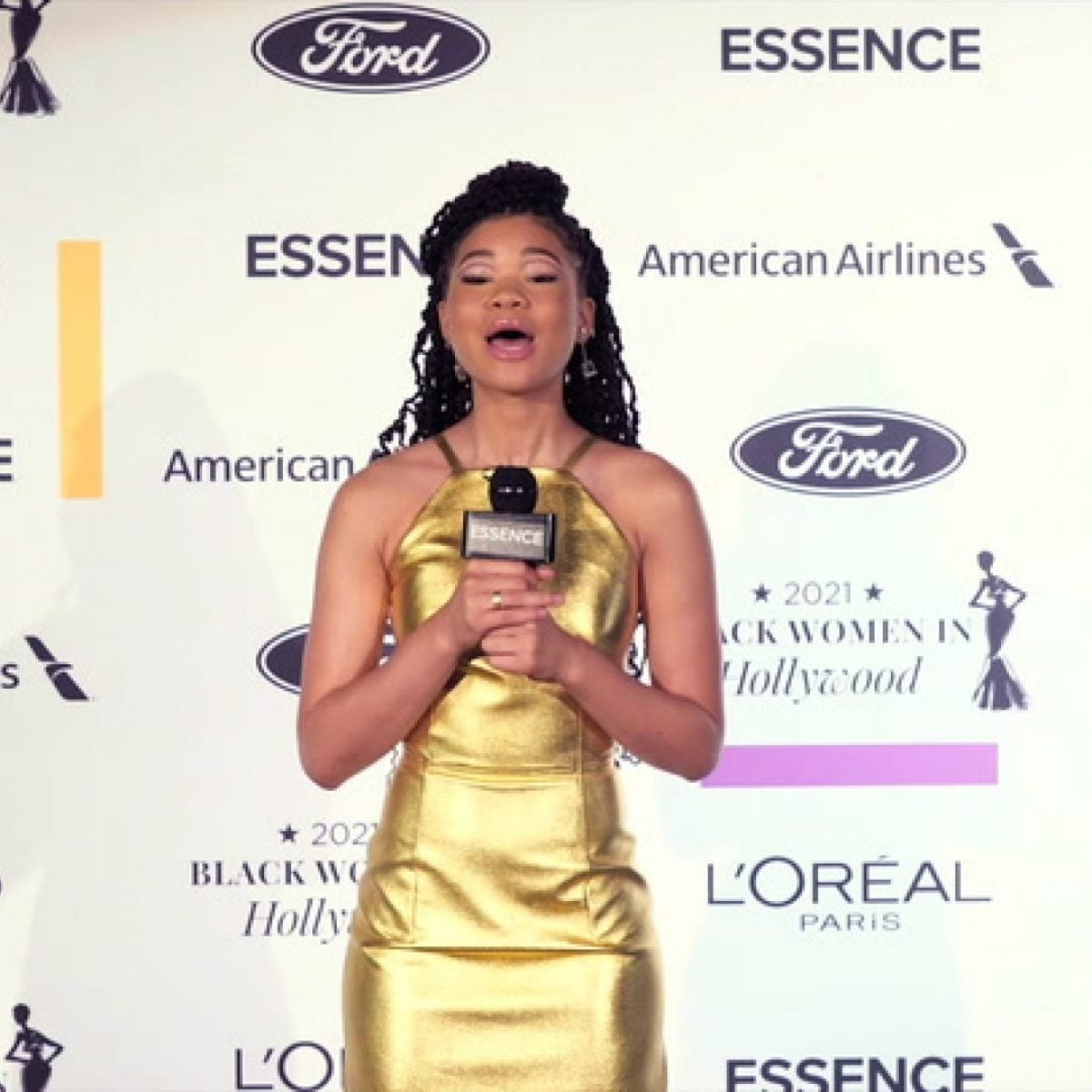 2021 Black Women in Hollywood Pre-Show Hosted by Storm Reid