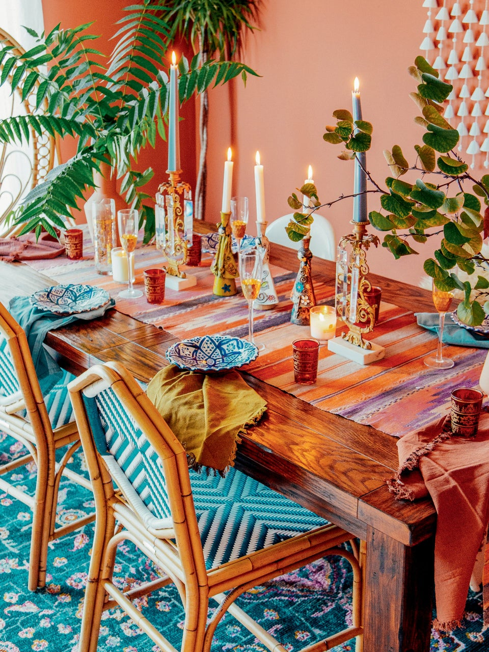 Justina Blakeney Shows Us How to Go Bold at Home