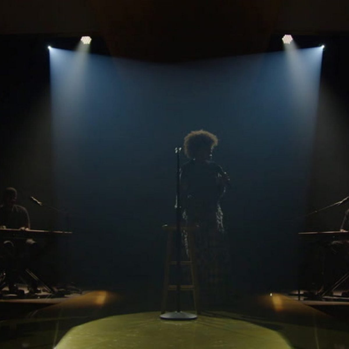 Andra Day Performs at the 2021 Black Women in Hollywood Awards Ceremony