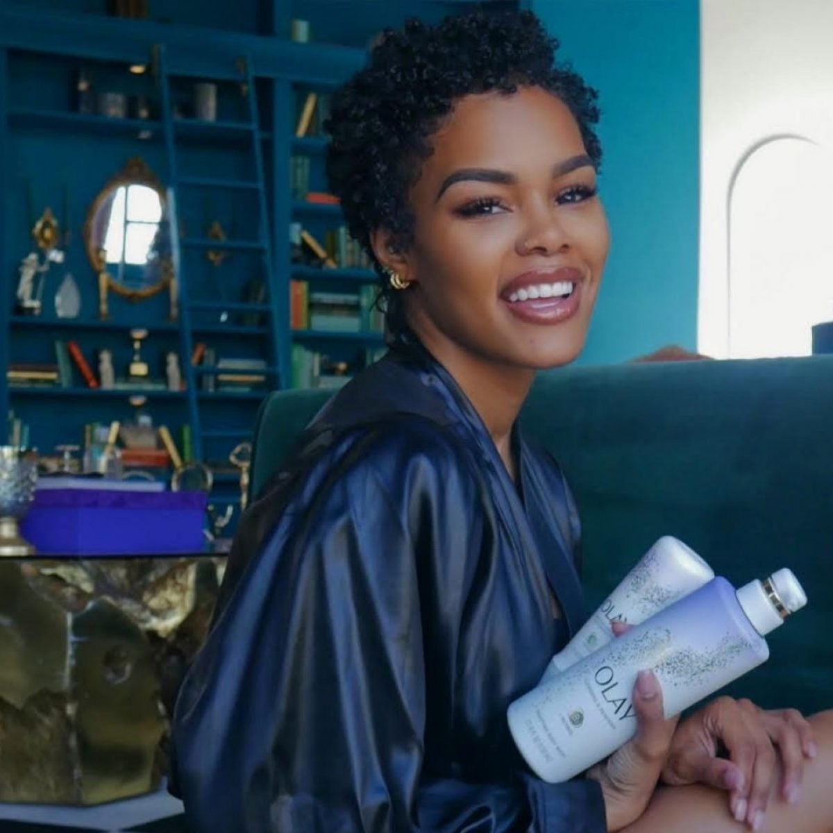 Teyana Taylor Talks Olay, Black Women In Production And Junie's Love For Makeup