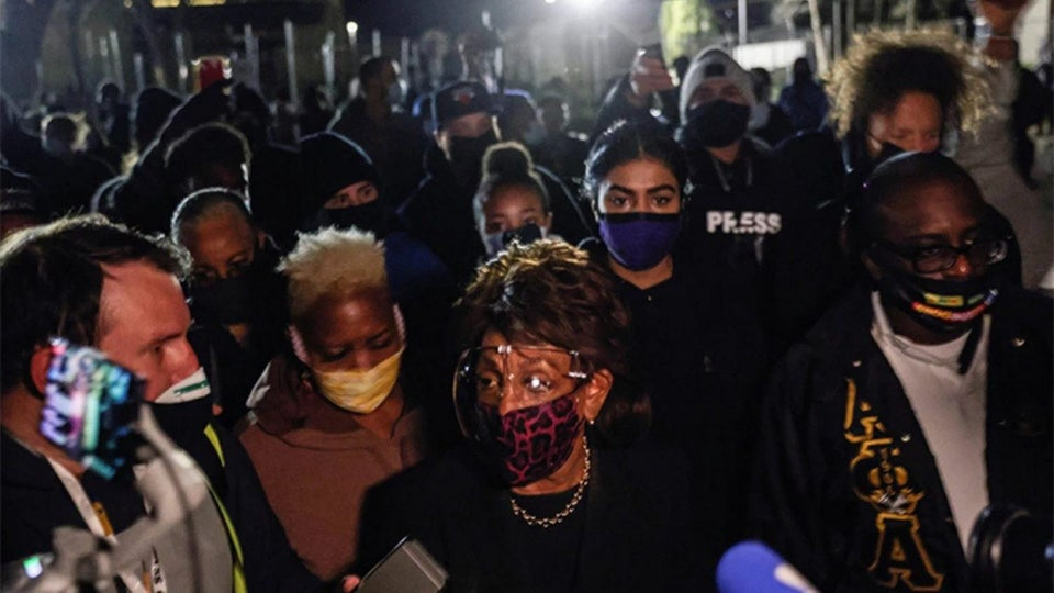 GOP Critics Call to Expel Maxine Waters from Congress After She Joined Minnesota Protesters