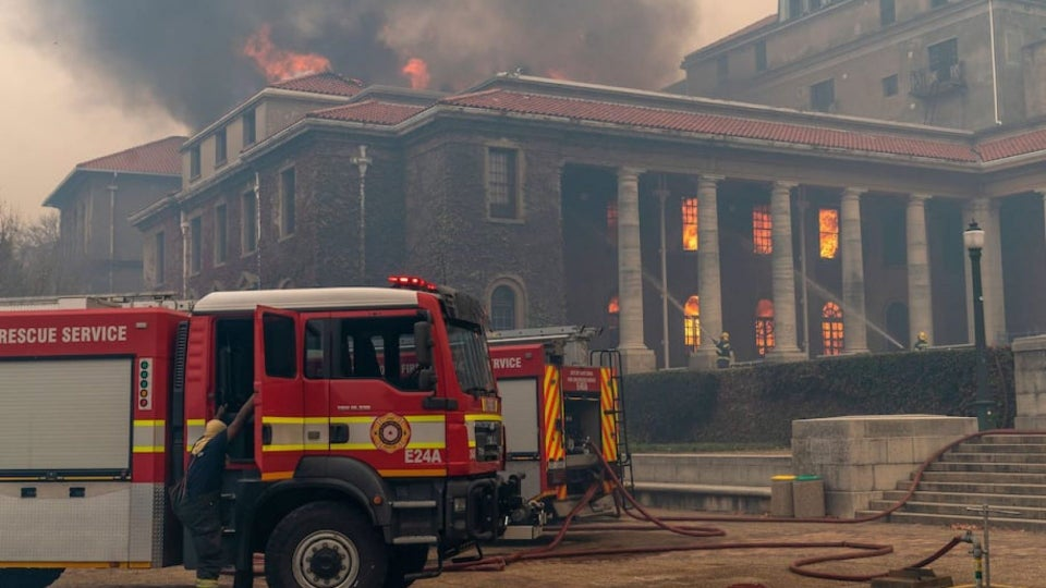 Thousands of African Artifacts Tragically Lost in Wildfire at University of Cape Town