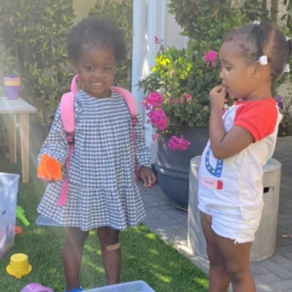 The Girls Are Playing: Celeb Kids Kaavia And Cairo Had Another Cute Playdate