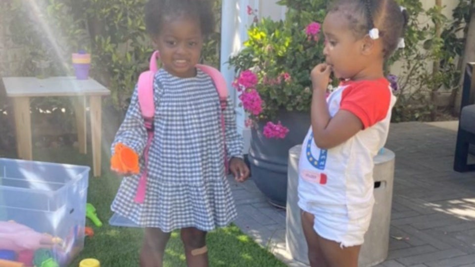 The Girls Are Playing: Celeb Kids Kaavia Wade And Cairo Hardrict Had Another Cute Playdate