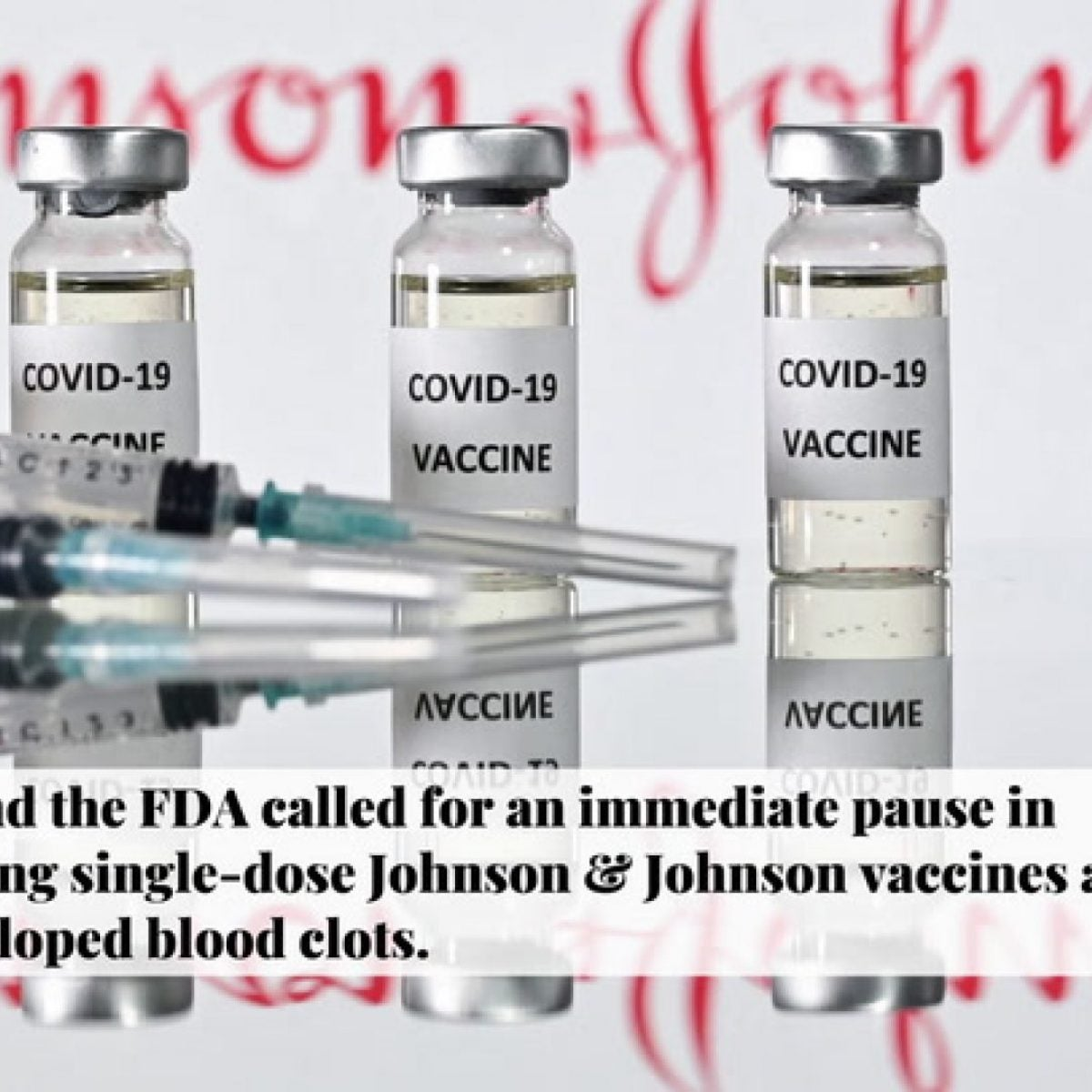 4 Things To Know About the CDC and FDA Pausing Johnson & Johnson Vaccinations