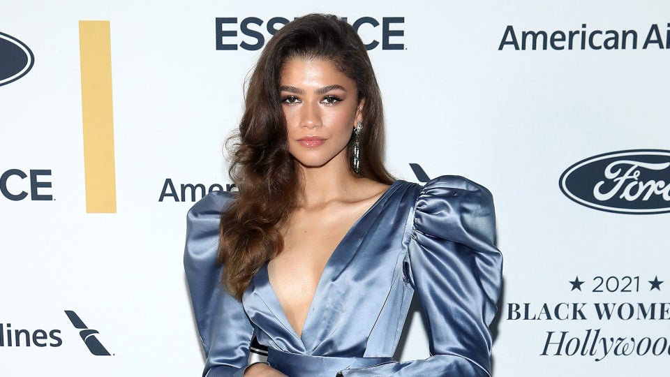 Zendaya Dazzles In A Vintage YSL Gown Owned By 'Ebony Fashion Fair' Founder Eunice Johnson