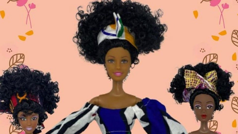 Two Black Dads Celebrate Diversity By Creating Their Own Line of Black Dolls
