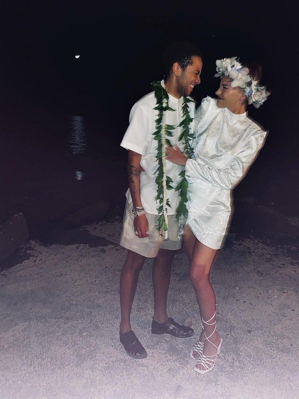 Sade's Son Izaak Got Married In Hawaii