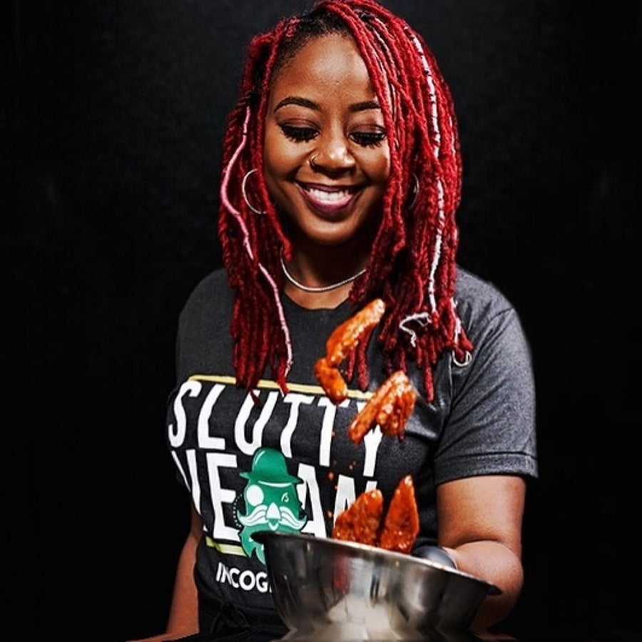Slutty Vegan's Pinky Cole On Entering Chicken Wars, Providing Plant-Based Food Without Pressuring People To Go Vegan