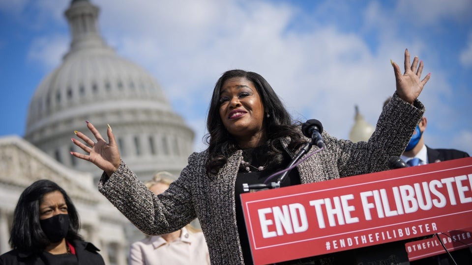 Rep. Cori Bush Says America is 'Racist AF' After Calling for Defunding of the St. Louis Police Department