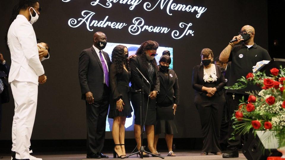 Andrew Brown Jr.'s Funeral Held Today in North Carolina