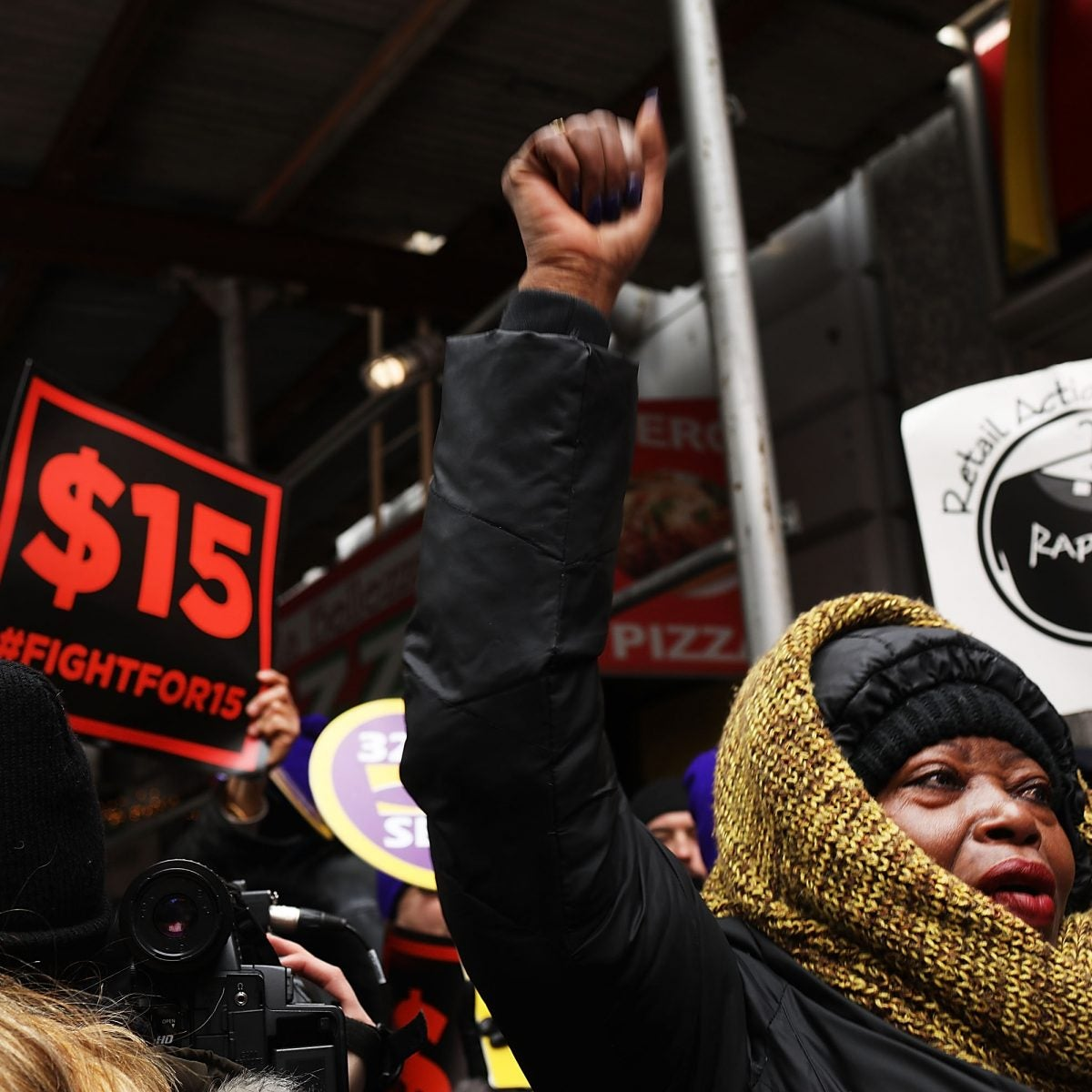 McDonald's Workers on Strike Today For Higher Wages Across 15 Cities