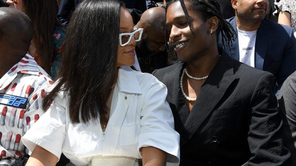 "A$AP Rocky Calls Girlfriend Rihanna ""The Love Of My Life"""