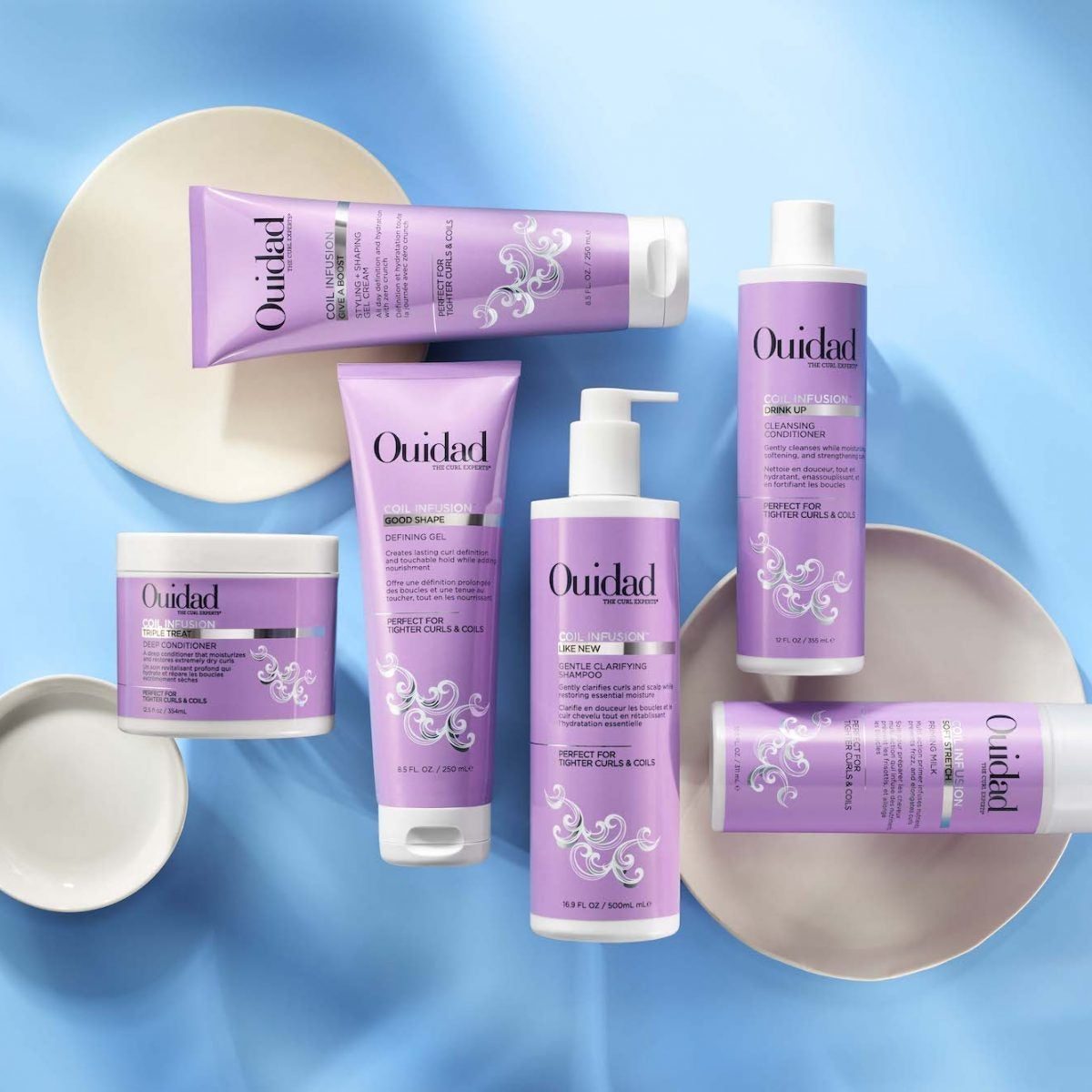 If Your Curls Need More Moisture, Ouidad's New Coil Infusion Collection Is A Dream Come True