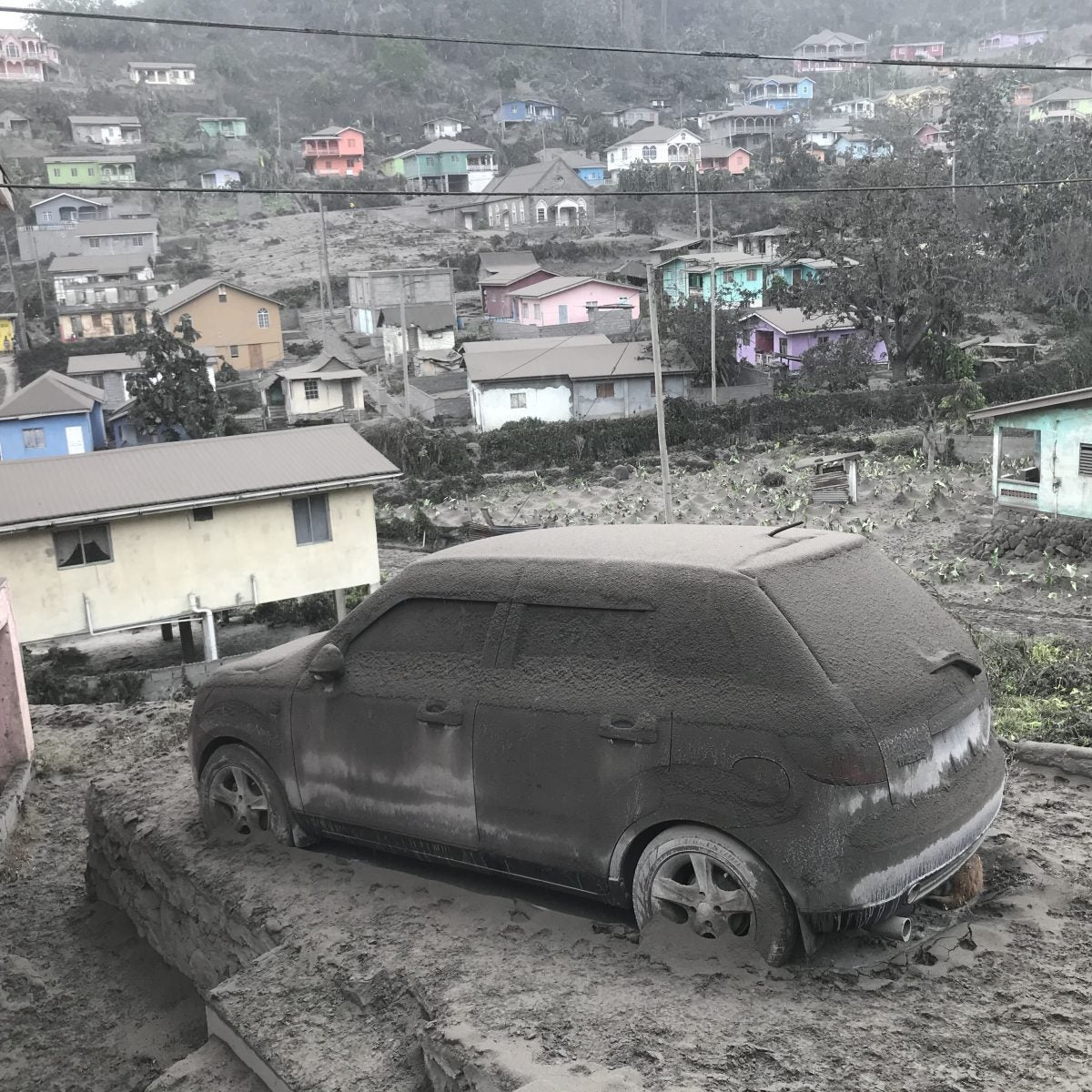 One Month After Volcano Eruptions Began in St. Vincent and Thousands Displaced, a Long Road to Recovery
