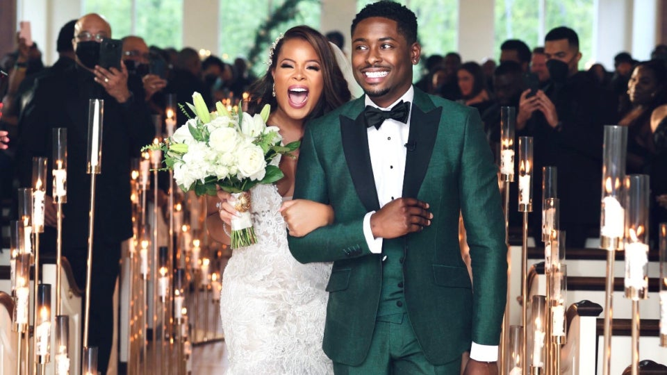 Bridal Bliss: Dalen And Stacey's Intimate Atlanta Wedding Was Full Of Some Tears And Plenty Of Joy