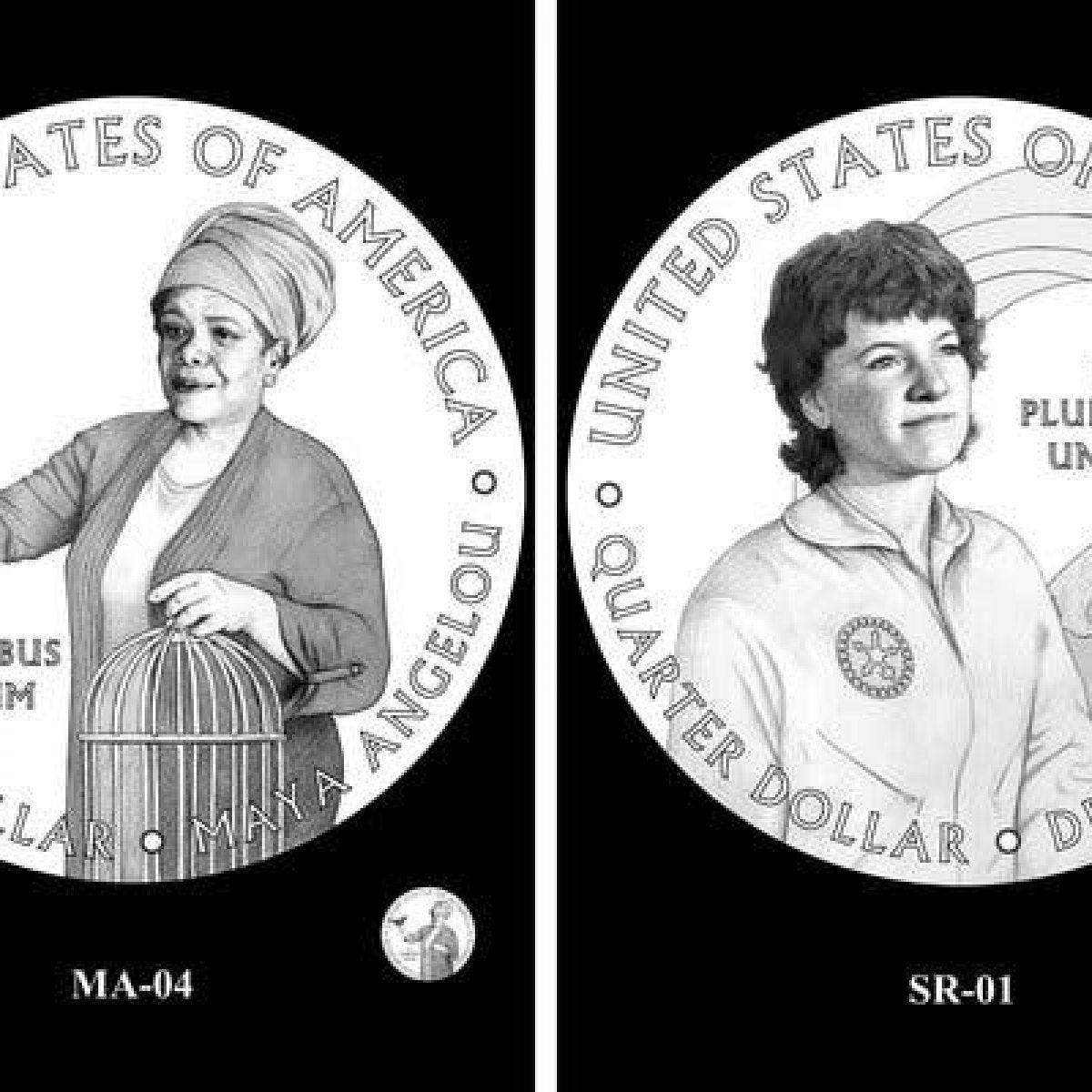 Maya Angelou Among Trailblazing Women To Appear on Newly Designed Quarter