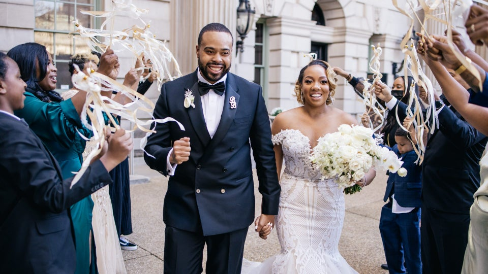 Bridal Bliss: After Multiple Replans, The Third Time Was The Charm For Shiedha And Brandon's DC Wedding