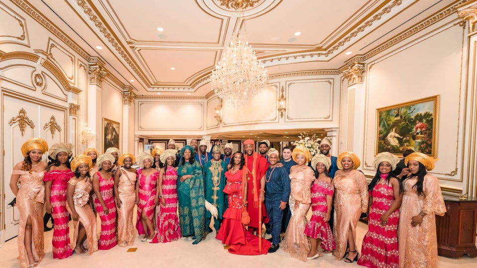 Bridal Bliss: Amira & Kester Went From A Covid Wedding At Home To An Epic Ceremony In A New Jersey Castle