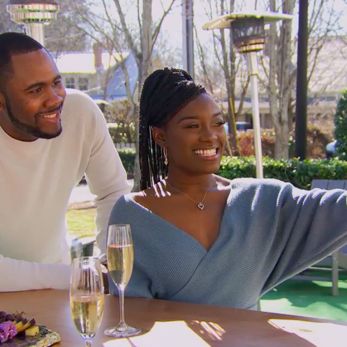 Exclusive: Watch Paige Banks Go On Her First Date Following 'Married At First Sight'