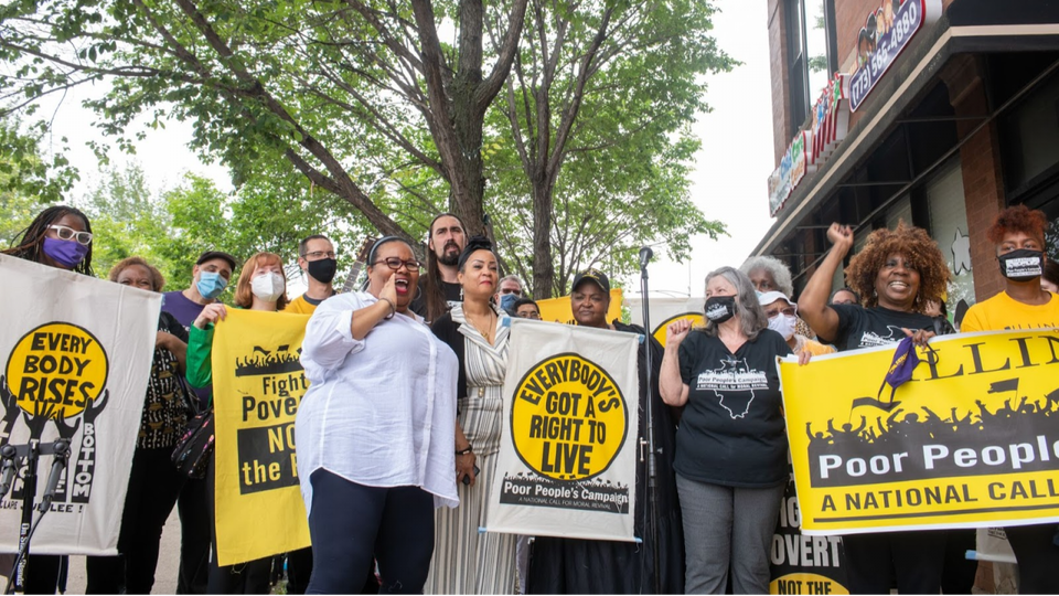 Poor People's Campaign Holds Actions Nationwide Aimed at Ending Poverty