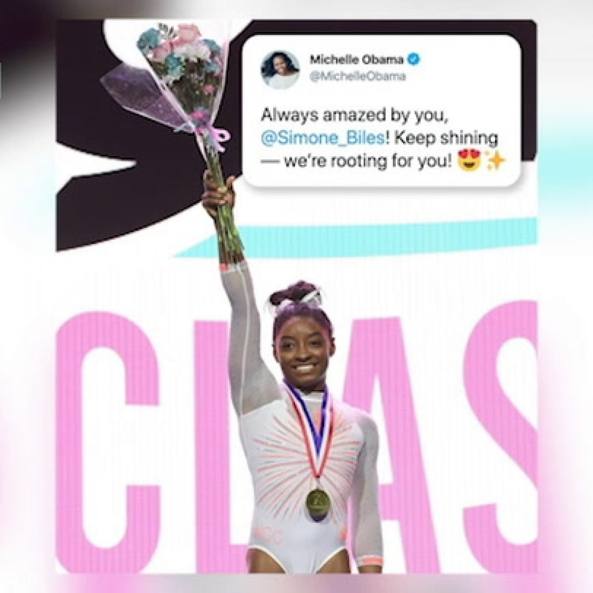 Simone Biles talks with ESSENCE after making history