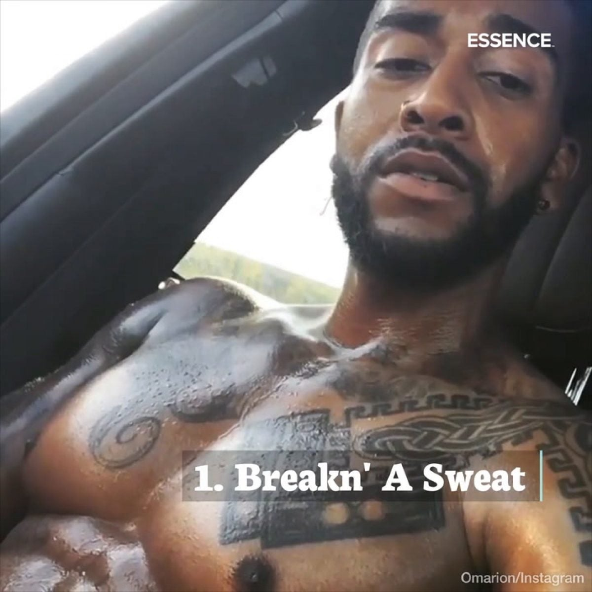 Thirst Trap Tuesday's: Omarion
