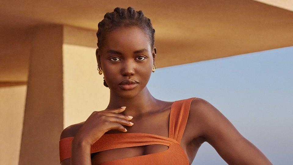 Supermodel Adut Akech Named The Newest Estée Lauder Global Brand Ambassador