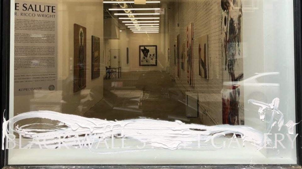 Black Wall Street Gallery Commemorating Tulsa Race Massacre Centennial Faces Attack of its Own