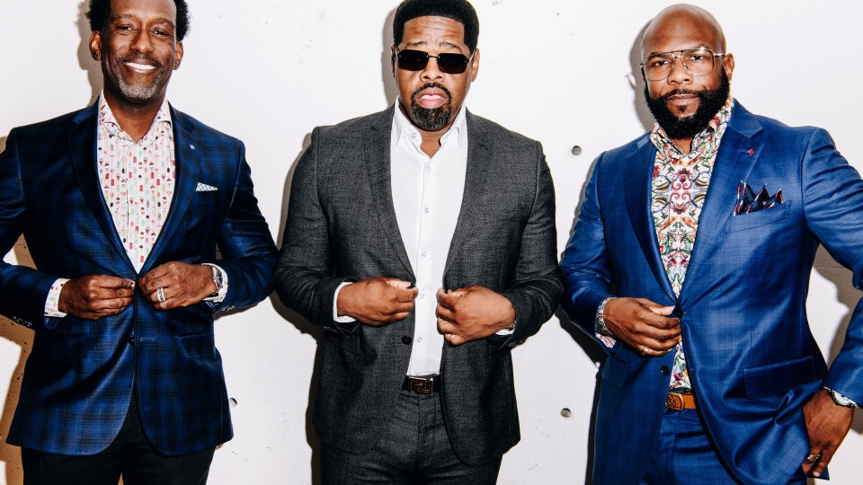 Pour The Wine, Light The Fire And Enjoy Boys II Men's New Rosé Collection
