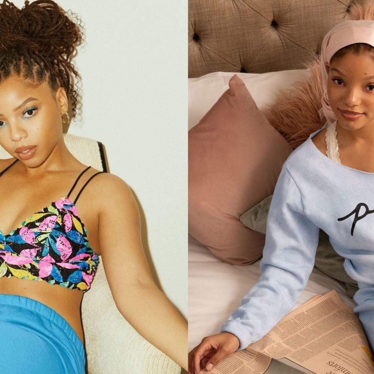 Shop Chloe X Halle's Victoria's Secret PINK Capsule Collection