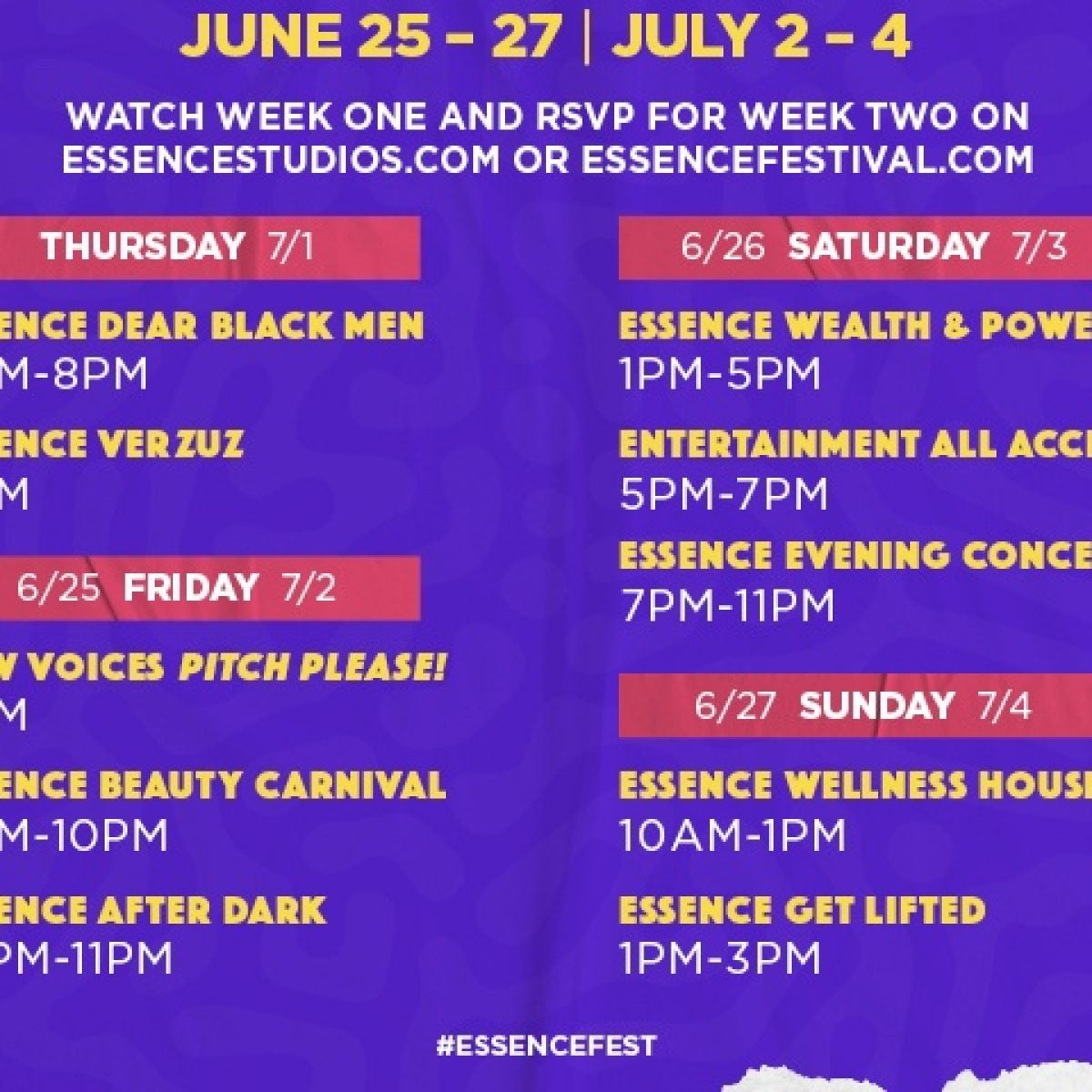 How To Watch The 2021 ESSENCE Festival Of Culture
