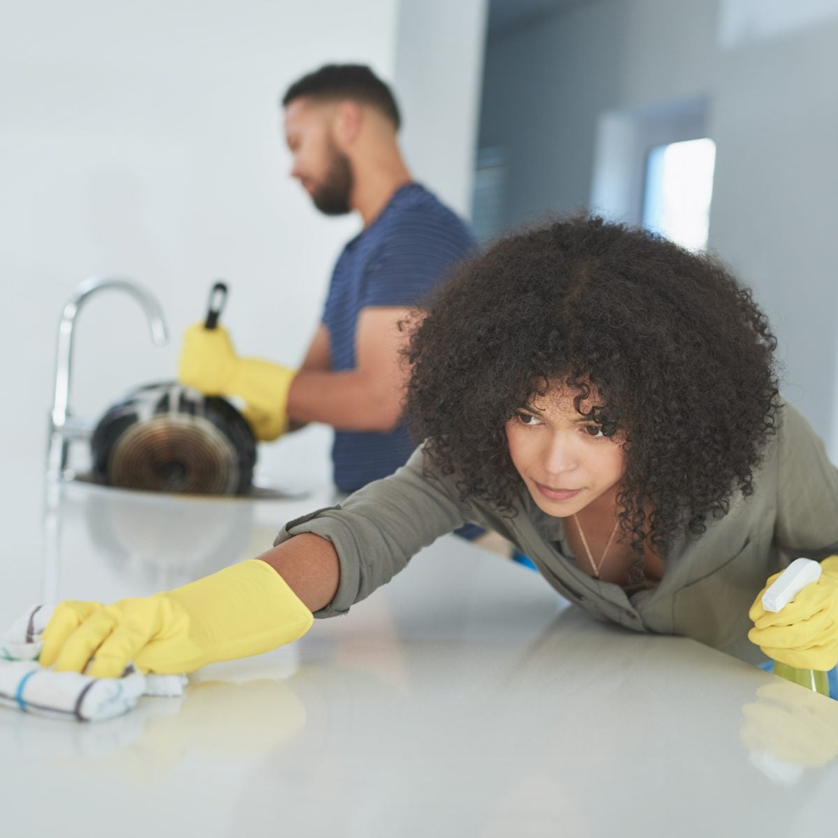 The Difference Between Cleaning And Disinfecting Your Home And Why Experts Say You Should Still Be Doing Both