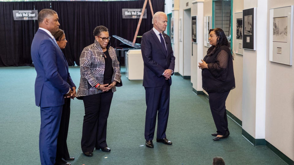 President Joe Biden Visits Tulsa, Oklahoma to Commemorate Greenwood Massacre 100 Years Ago