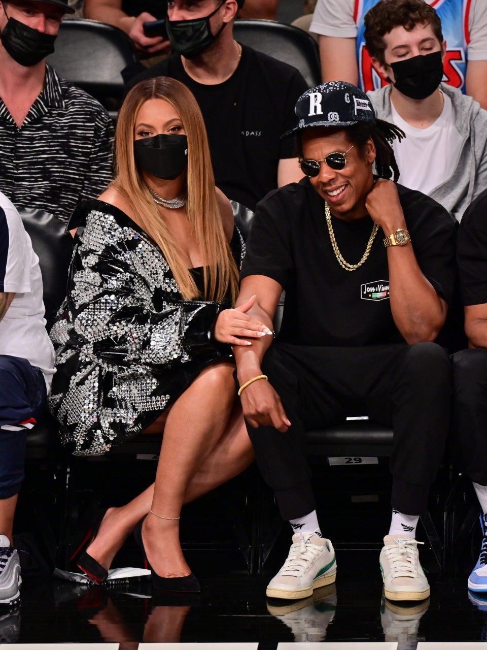 Love and Basketball: Beyoncé and Jay-Z's Sweetest NBA Courtside Moments