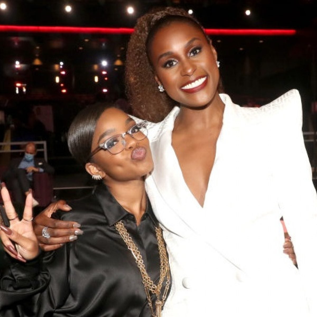 Marsai Martin Shares Her Love For Issa Rae On The BET Red Carpet: 'She's Truly Amazing'