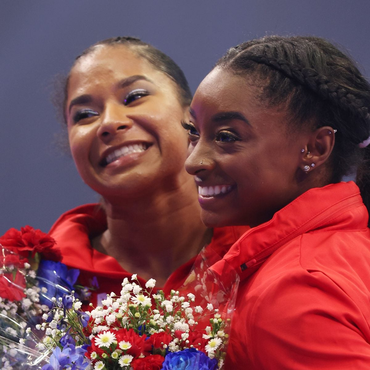 Jordan Chiles Considered Quitting Gymnastics But Simone Biles Convinced Her Not To. Now, They're Going To The Olympics Together.