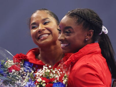 Jordan Chiles Considered Quitting Gymnastics, But Simone Biles Encouraged Her Not To. Now, They're Going To The Olympics Together.