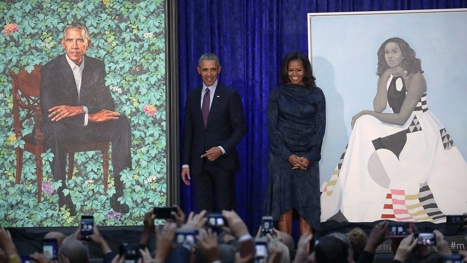 Barack and Michelle Obama Are Taking Their Portraits On Tour