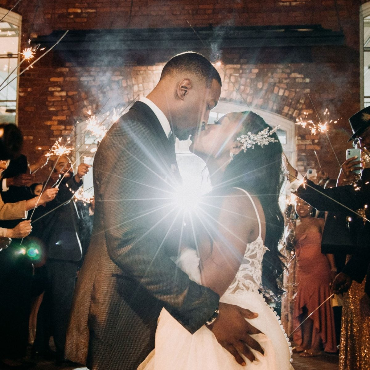 Bridal Bliss: Their First Wedding Got Canceled, So Alisha and Jordan Went All Out This Time