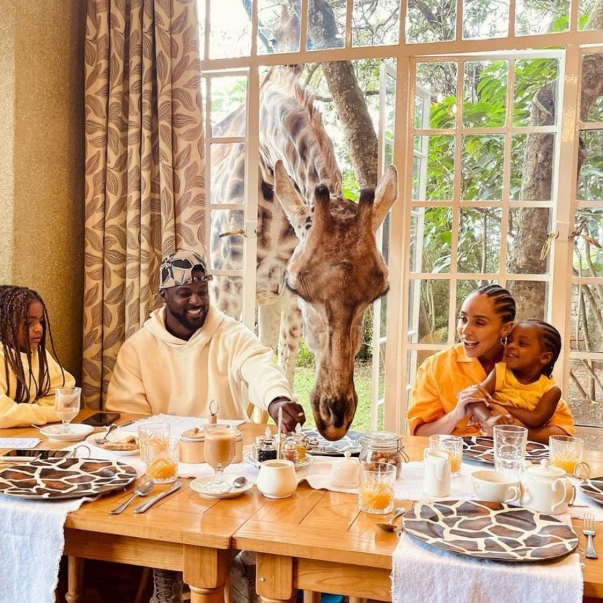 'Show 'Em The World': Lance Gross's Family Vacation To Kenya Is Getaway Goals