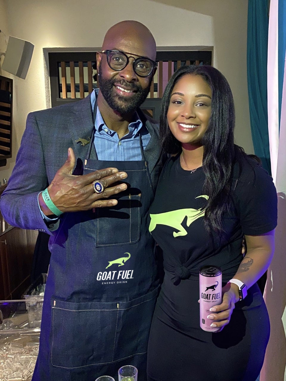 G.O.A.T Fuel Founder Jaqui Rice Teamed Up With Dad Jerry To Take Over The Male-Dominated Beverage Space