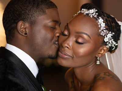 """Bridal Bliss: Jessica And Lawrence Walked On Water To Say """"I Do"""""""