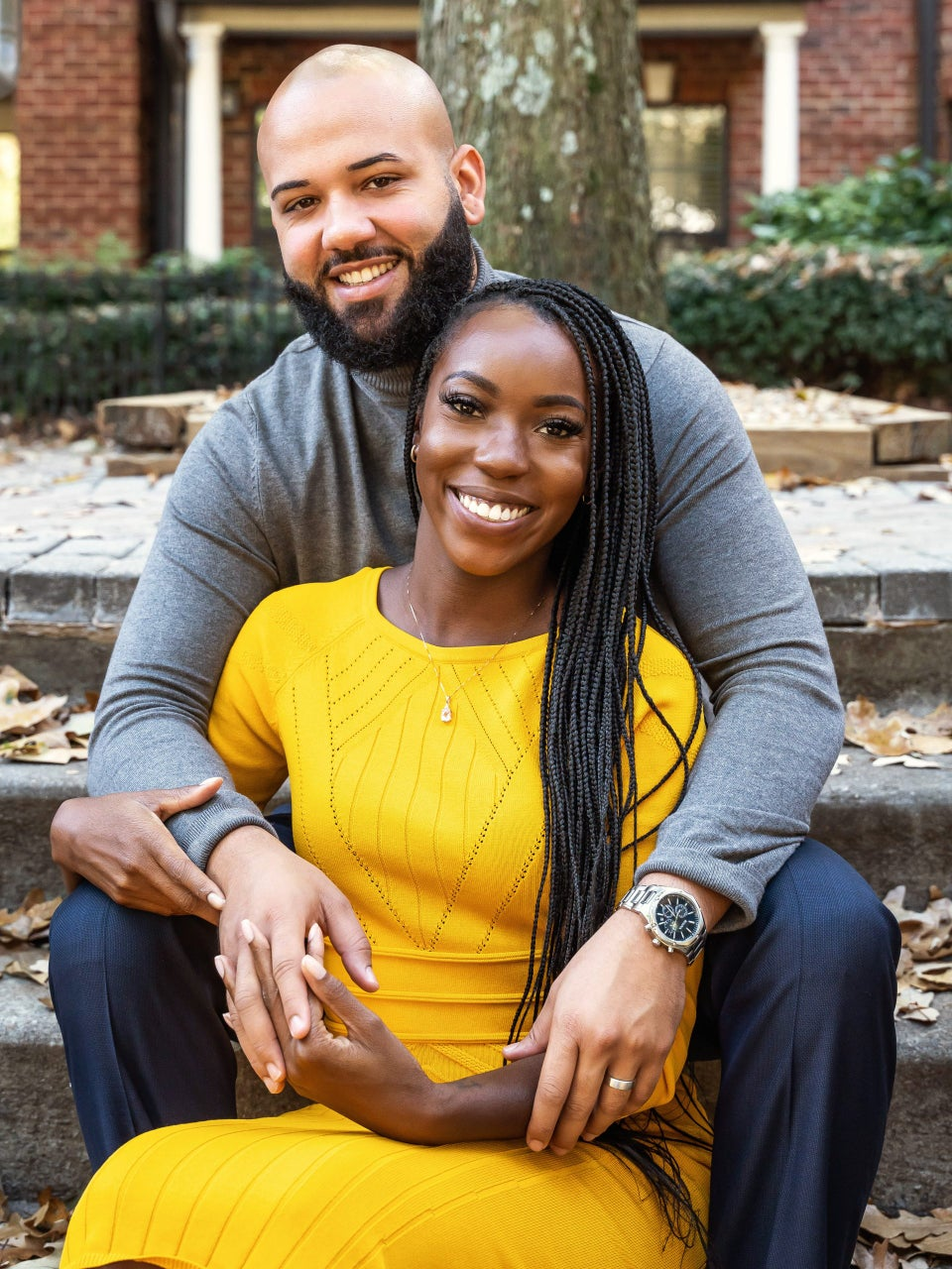 Vincent And Briana Of 'Married At First Sight' Explain The Perks Of Marrying A Stranger And Finding Love On TV