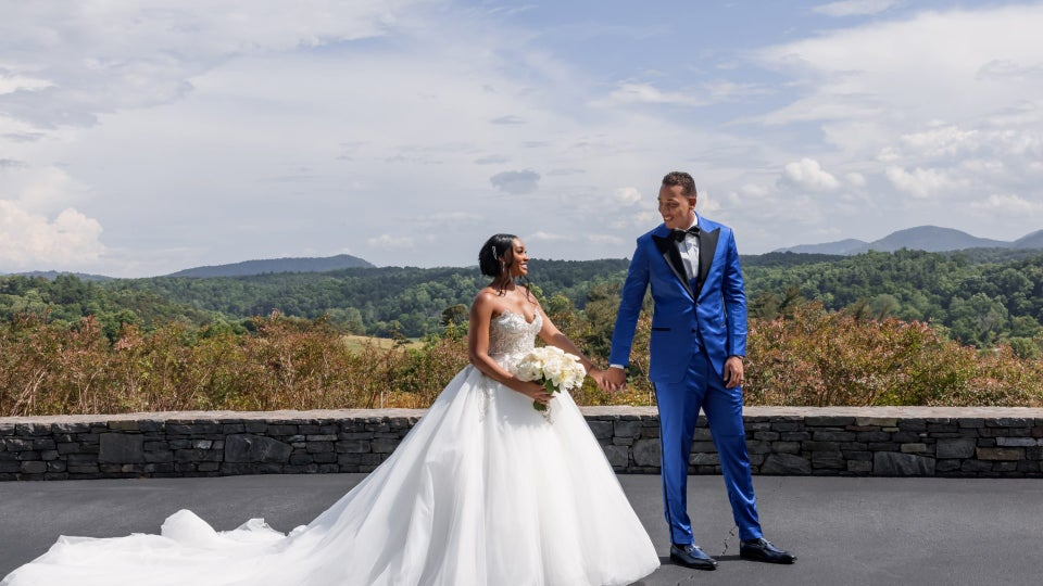 Exclusive: Inside Jasmine Luv and Corey Barrett's Fairytale Wedding